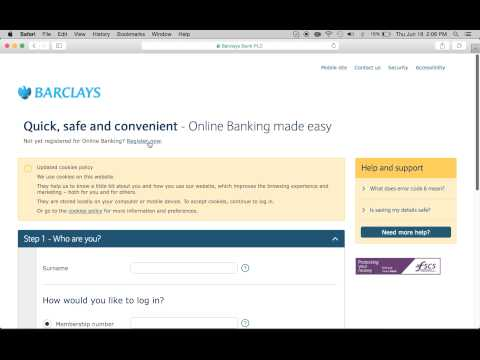 Barclays Bank Online Banking Login   Enroll