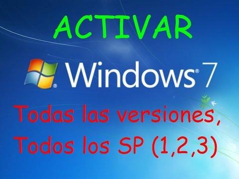 Como activar Windows 7 ó Vista PARA SIEMPRE!!!