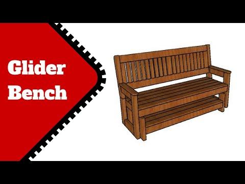 Free Glider Bench Plans