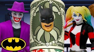 Funny Money | Batman Missions: Stop-Motion Adventures | DC Kids