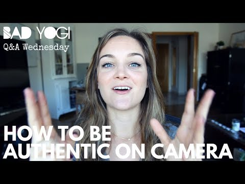 Q&A: How to be authentic on camera