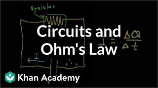 Download Introduction to circuits and Ohm's law   Circuits   Physics   Khan Academy Video