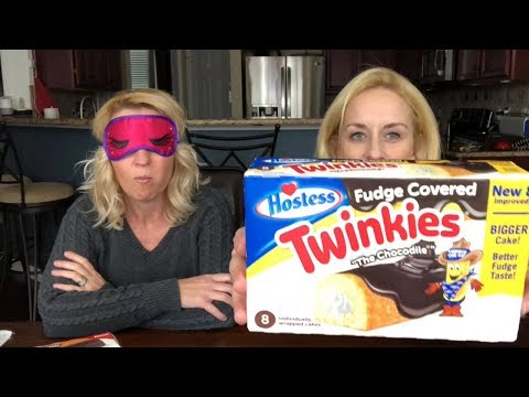 Fudge Covered Twinkies - Chocolate Peanut Butter Twinkies - Review