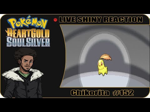 DISAPPOINTMENT?? SHINY CHIKORITA AFTER 22,000 STARTERS | Live Pokemon HGSS Shiny Reaction