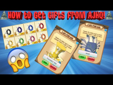 HOW TO GET GIFTS FROM AJHQ!!!!!!!!