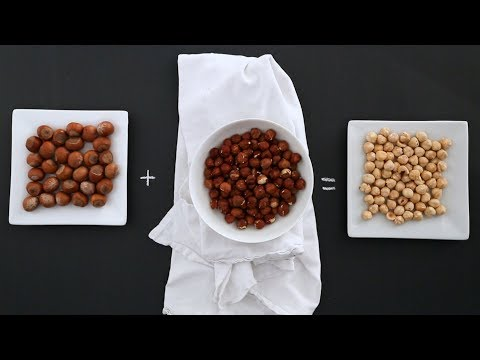 The Fastest and Easiest Way to Remove Skin From Hazelnuts- Kitchen Conundrums with Thomas Joseph