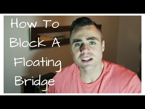 How To Block Off A Floating Tremolo Bridge for Less Than a Dollar!
