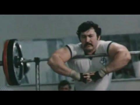 Rarely Video of Soviet Weightlifter - David Rigert - Мастера железной игры