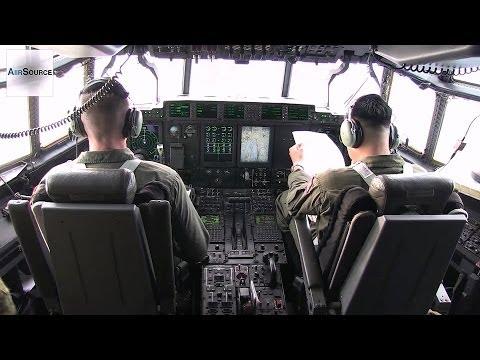 U.S., Philippine, Australian Service Members Fly in C-130