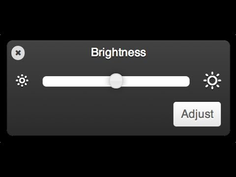 HOW TO CHANGE BRIGHTNESS ON PC ( windows7 and windows8 )