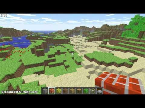 Classic Minecraft (PC) - Underwater House!!!