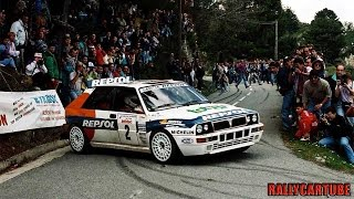 Lancia Delta Evoluzione Rally Gruppo A Pure Engine Sound