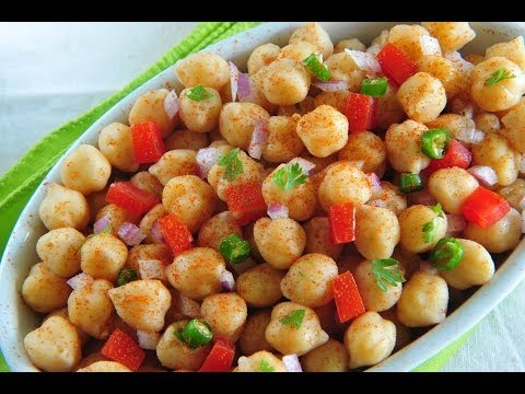 How to quickly make Chana Chaat