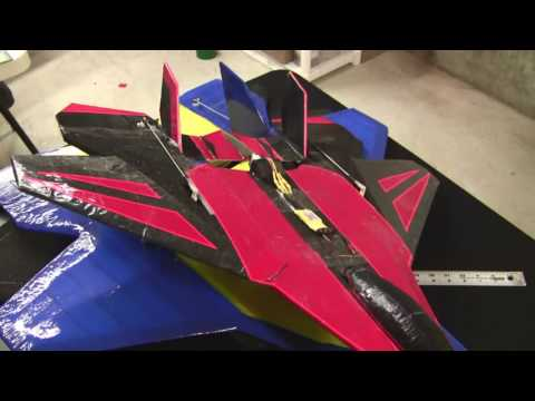 Part 1 EPP Park Jet (Scratch Built RC Airplane)