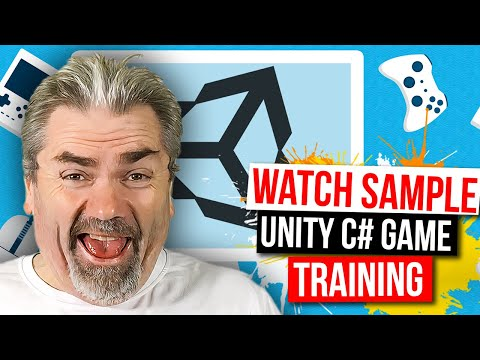 Sample Course Training - Unity Game Developers Masterclass: Write Games using C# on Udemy - Official