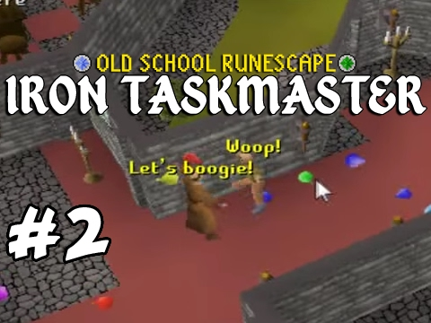 Old School RuneScape Ironman #2 - Smashing Out Quests!