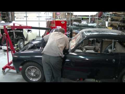 1960 AC Greyhound - Engine &Transmission Removal - Gassman Automotive
