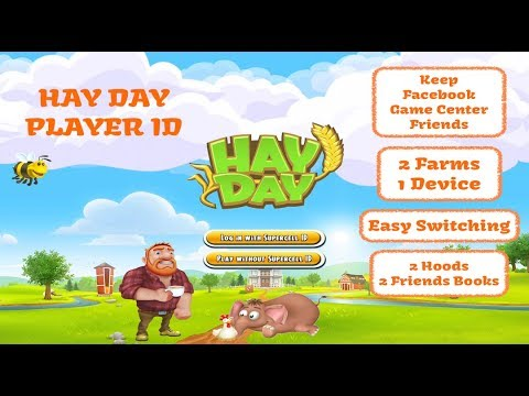 Hay Day Player ID, Supercell Player ID