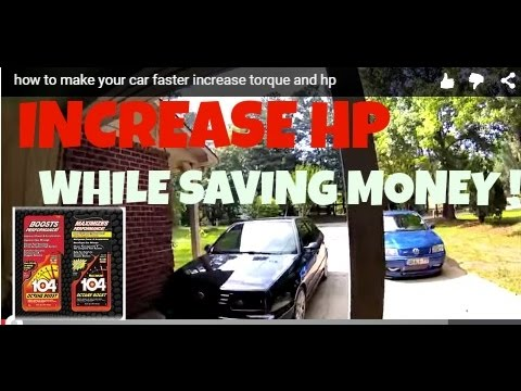 how to make your car faster  increase torque and hp