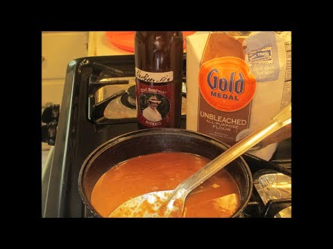 How To Make A FRICASSEE ROUX..Cajun Style.