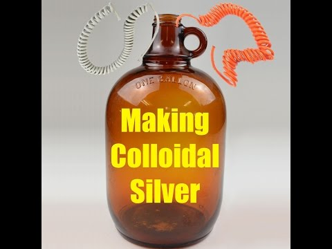 Making Colloidal Silver