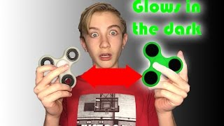 GLOW IN THE DARK FIDGET SPINNER?! | Test and Review