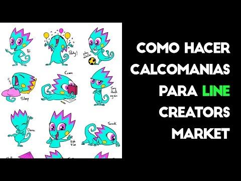 Como hacer Stickers para LINE Creators Market