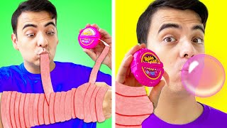 8 CRAZY SNEAKING FOOD INTO CLASS | FUNNY WAYS TO SNEAK SNACKS IDEAS BY CRAFTY HACKS