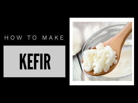 How to make Kefir
