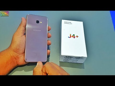 Samsung J4+ Unboxing Gold Edition