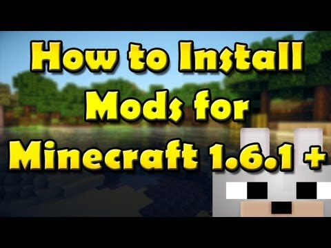 SCMowns - How to install Mods for Minecraft 1.6.1 -Modloader (Windows) (Mac Text/Video Below!)