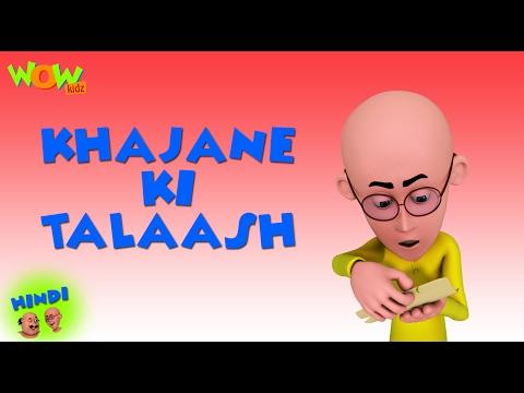 Khajane Ki Talash Motu Patlu In Hindi 3d Animation Carto