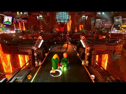 Lego DC Super-Villains Character Creation & Exploration Gameplay | E3 2018