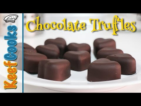 Easy Chocolate Truffles Video Recipe