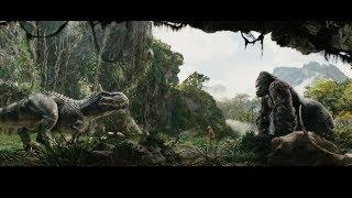 Download King kong Vs t Rex Fight scene/غوريلا كينغ ضد الديناصور تي ريكس Video
