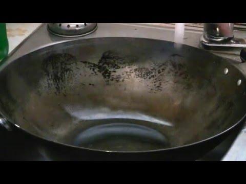 How To Clean A Wok  (Carbon Steel Wok)  Stir Fry Wok Maintenance
