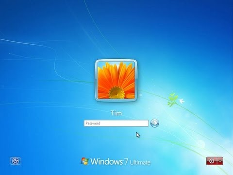How to create a user account on windows 7