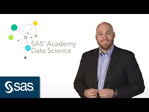 How to Become a Data Scientist: SAS Academy for Data Science