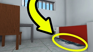 THE SECRET GUN IN ROBLOX PRISON LIFE!!