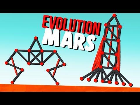 Amazing Mars Rover and Rocket! - Evolution Simulator