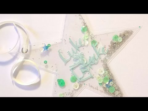 How To Create A Custom Shaker Gift Tag - DIY Crafts Tutorial - Guidecentral