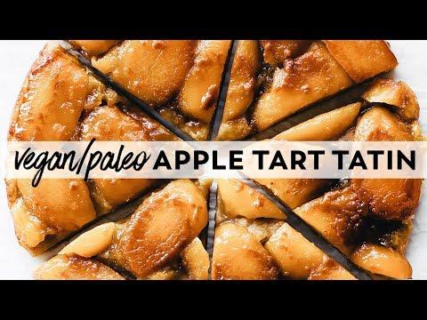 Apple Tart Tatin {vegan, gluten-free, paleo}