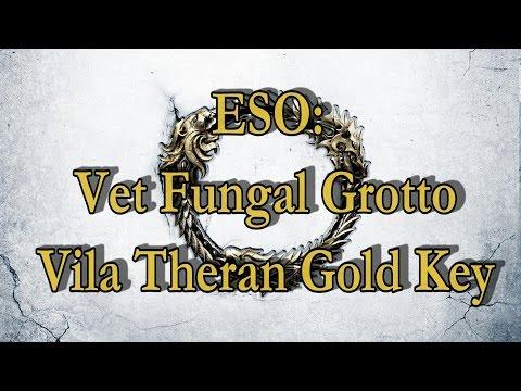 ESO: Veteran Fungal Grotto Vila Theran Gold Key