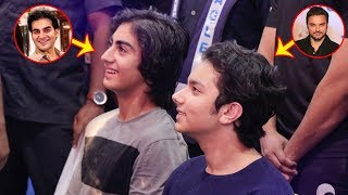 Salman Khan's Nephews: Sohail Khan's Son Nirvaan & Arbaaz Khan's Son Arhaan @beingHumanGym Launch