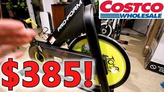 ProForm Tour de France CBC COSTCO Indoor Cycling Bike - Peloton Alternative First Impressions review