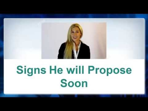 💖-► Signs He will Propose to You Soon