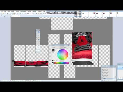 How to make shoes of Roblox (Part 2)