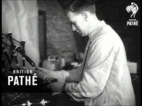 Making Bagpipes (1952)