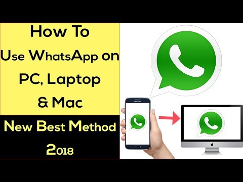 How to Use Whatsapp on Computer/PC, Laptop, Mac OS or Other Platform in Easy Steps 2018