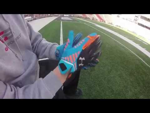 Football Gloves and Grip Boost